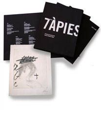 Tapies open book
